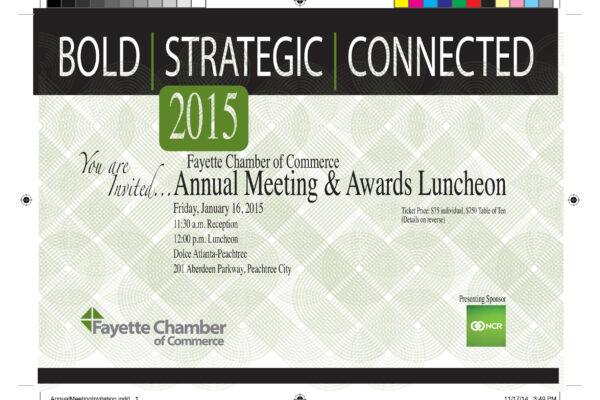 Fayette Chamber of Commerce Invite